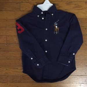 Ralph Lauren button down long sleeve dress shirt